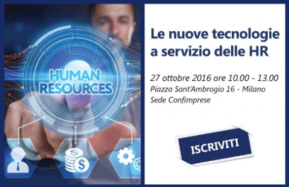 Le nuove tecnologie a servizio delle HR