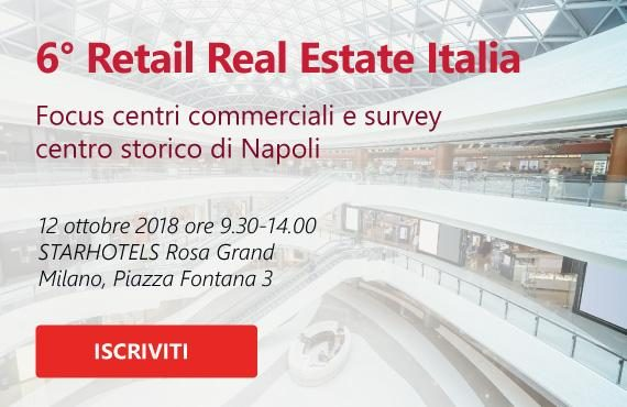 6° Retail Real Estate Italia