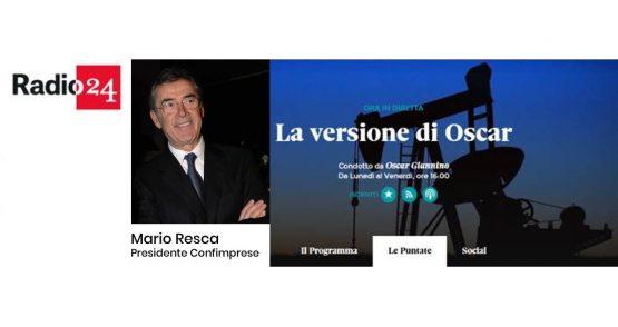 """Radio 24 – Mario Resca intervistato da Oscar Giannino: """"Oltre 19mln i consumatori della domenica: impensabile chiudere"""""""