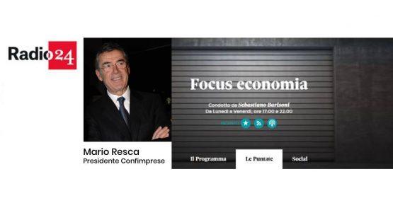 """Radio 24 – Mario Resca intervistato da Sebastiano Barisoni: """"34 giorni di chiusura: una vera follia"""""""
