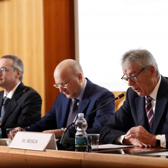 Conferenza stampa Confindustria-Confimprese