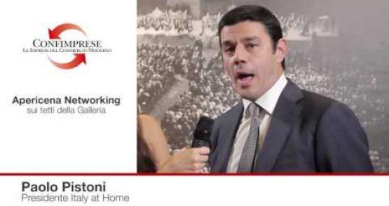 Paolo Pistoni, Presidente Italy at Home