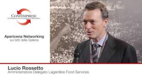 Lucio Rossetto, Amministratore Delegato Lagardère Food Services