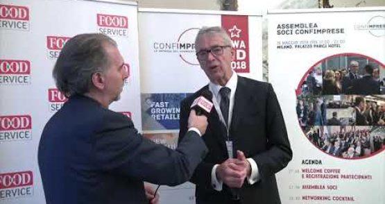 Assemblea Associati 2018 – Mario Resca, Presidente Confimprese