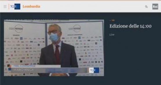 Mario Resca, Confimprese su chiusura centri commerciali in Lombardia nei weekend – Tg3Lombardia