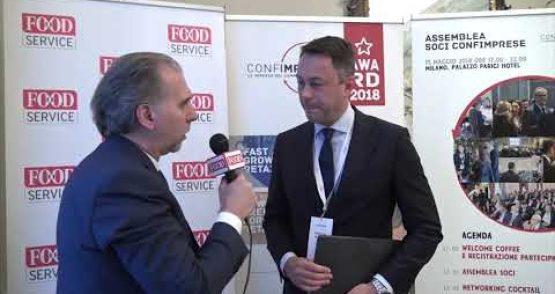 Assemblea Associati Confimprese 2018 – Cristian Biasoni, Chef Express