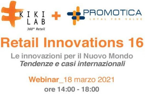 Retail Innovations 16 – Le innovazioni per il Nuovo Mondo