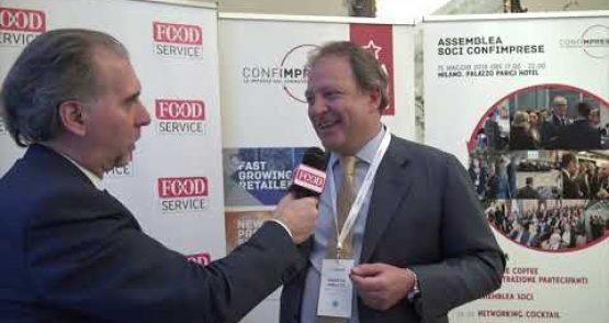 Assemblea Associati Confimprese 2018 – Maurizio Borletti, Presidente Grandi Stazioni
